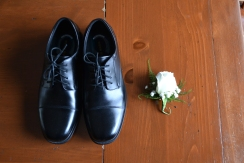Shoes and Flowers