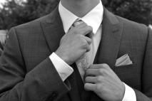 His Tie